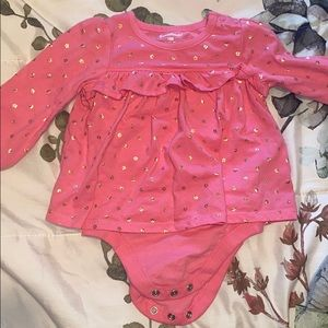 babygirl long sleeve body suit - 18 m